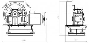 Редуктор РЧЛ 160х52 (МЛЗ)