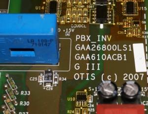 Плата GAA26800LS1 PBX_INV OTIS