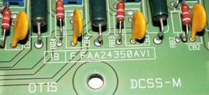 Плата F.FAA24350AV1 DCSS-M OTIS