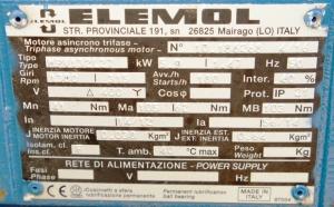 Электродвигатель ELEMOL MPV132L.27 5,9/1,4