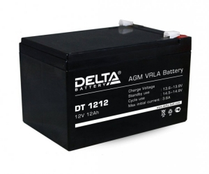 Аккумулятор DELTA DT 1212 (12V 12AH)