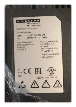 Частотный преобразователь emotron DSV35-40-023 Lift