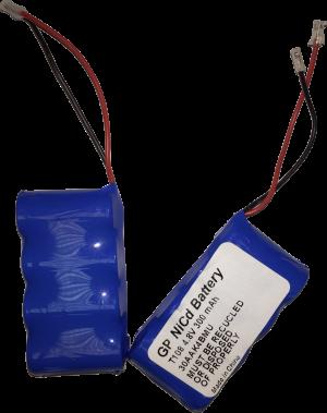 Аккумулятор аварийного освещения GP 4.8В 300мА