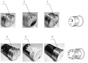 Кнопка-модуль ZAA25090 L301 OTIS