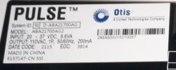 Блок контроля ABA21700AG2 OTIS