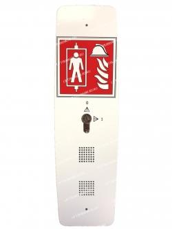 Thyssenkrupp aufzugswerke FY Fireman box EN81-72 oval (пожарный пост) 65660009610