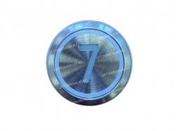 "Кнопка ""7"" круглая  KONE KM863233H03"