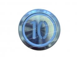 "Кнопка ""10"" круглая  KONE KM863233H03"