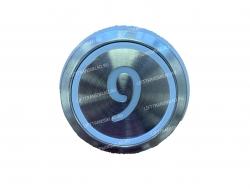 "Кнопка ""9"" круглая  KONE KM863233H03"
