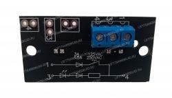 Микропереключатель на плате поста ПВЛ-10К1В1Н1Н(КМЗ) размыкающий