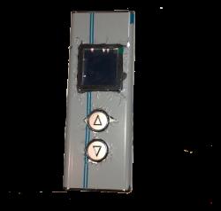 Пост Вызова с кнопкой Вега и дисплеем LCD 600 ЕВРОЛИФТМАШ (Vega)