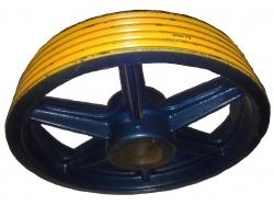 Шкив кантоведущий КВШ 520х5х10 (AKAR) DAK 170