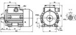 Электродвигатель АИР-56В4 220/380