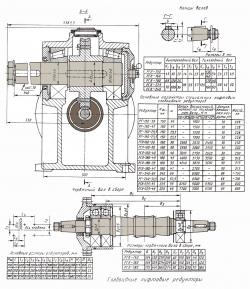 Червячная пара РГЛ 180х45