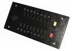 Панель (лифтёра) приказа ПЛ-53